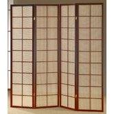 4 Panel Fabric Shoji Screen