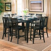 Lakeside 9 Piece Counter Height Dining Set