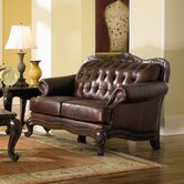 Valencia Leather Loveseat