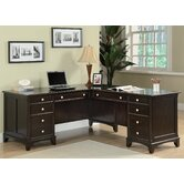 Doyle L-Shaped Desk with File