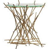 Blow-Up Bamboo End Table