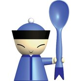 Mr. Chin Little Spoon and Egg Cup with Salt Castor
