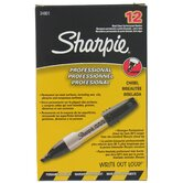12 Count Black Professional Permanent Marker