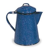 Enamel 8 Cup Coffee Pot