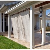 Exterior Privacy Tab Curtain