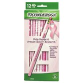 12 Count Help Support Breast Cancer Research Pencil