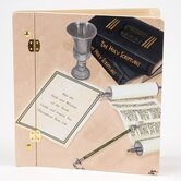 Judaica Mitzvah Book Photo Album