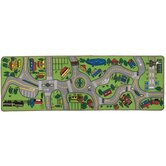 Giant Road Play Kids Rug