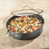 Contemporary 7-qt. Sauteuse Pan with Lid