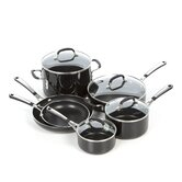 Simply Black Enamel 10-Piece Cookware Set