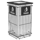 Clean Grid Outdoor Recycling Receptacle