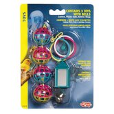 Living World Value Ring Assorted Toys - 3 Pack