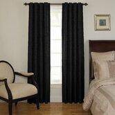 Room Darkening Backtab Window Panel Set in Black