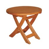 Terrace Mates Aspen Round Folding Side Table