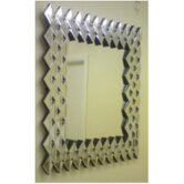 Triangle Sections Bevelled Mirror