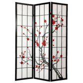 72&quot; Cherry Blossom Decorative Room Divider
