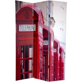 6Feet Tall Double Sided London Room Divider