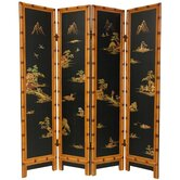 Ching Room Divider in Black
