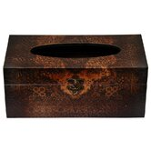 Olde-Worlde European Tissue Box in Faux Leather