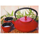 "Red Teapot Canvas Wall Art - 19.75"" x 27.5"""