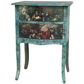 Distressed Gathering 2 Drawer Nightstand