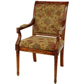 Queen Victoria Fabric Arm Chair