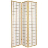 Window Pane Room Divider in Natural