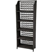 Natural Fiber Shelving Unit