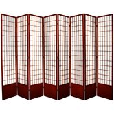 Tall Window Pane Shoji Screen