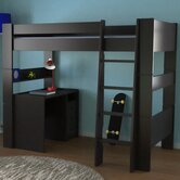 Highsleeper Twin Loft Bed with Built-In Ladder