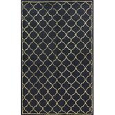 Greenwich Lattice Black Rug