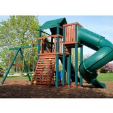 Soaring Summerville Twist Wood Complete Play Set
