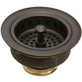 3.5&quot; Basket Strainer in Oil-Rubbed Bronze