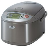 Induction Heating Stainless Steel Rice Cooker &amp; Warmer