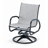 Gardenella Swivel Dining Arm Chair