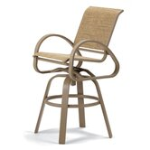Aruba II Bar Height Swivel Café Chair