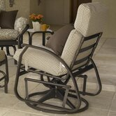 Cape May Swivel Dining Arm Chair with Cushion