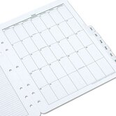 Original Green Dated Weekly/Monthly Planner Refill