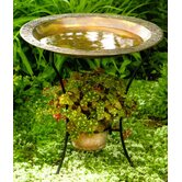 Copper plated Steel Birdbath