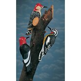 Woodpecker Tree Statue