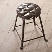 Tufted Top Dining Stool