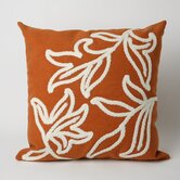 Windsor Square Indoor/Outdoor Pillow in Orange