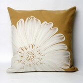 Antique Medallion Square Indoor/Outdoor Pillow in Gold