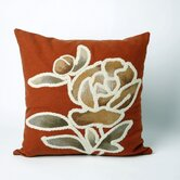 Gabbana Square Indoor/Outdoor Pillow in Orange
