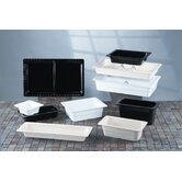 Gastronorms 1/6 GN Food Pan in Black (Set of 6)