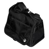 Messenger Bag Pet Carrier in Black Diamond
