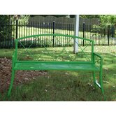 Living Color Junior Steel Garden Bench