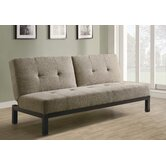 Velvet Fabric Sleeper Sofa