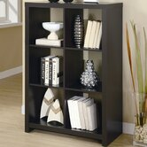 "48""Hollow-Core Room Divider Bookcase"