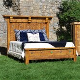 Spanish Trail Panel Bed
